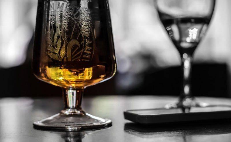alcohol reflection