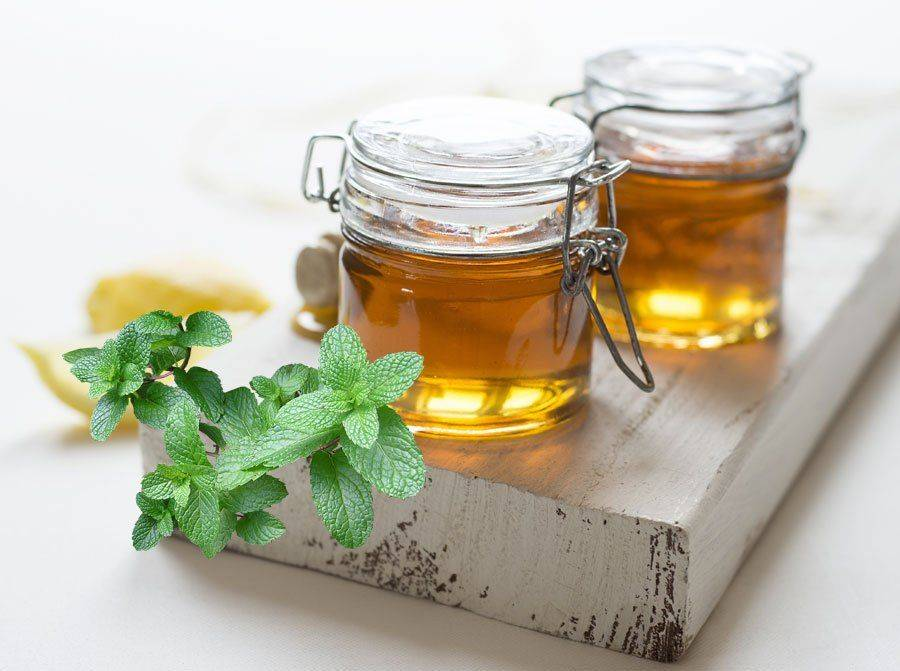 Мята и мед