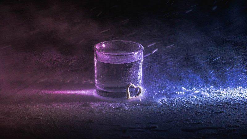 Водка на холоде