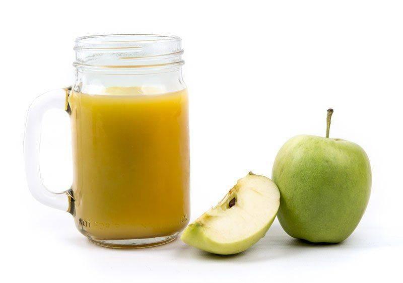 Спирт и сок яблочный