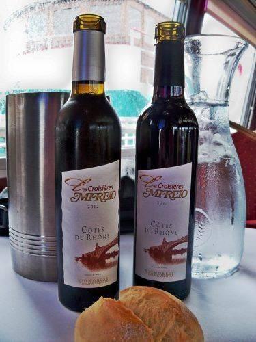Два вина Кот дю Рон