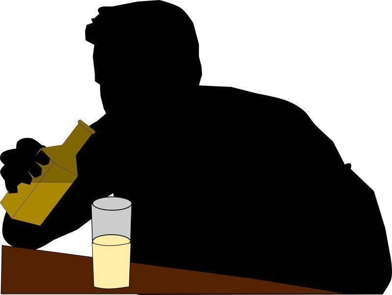 Печень, мозг, сердце алкоголика и здорового человека