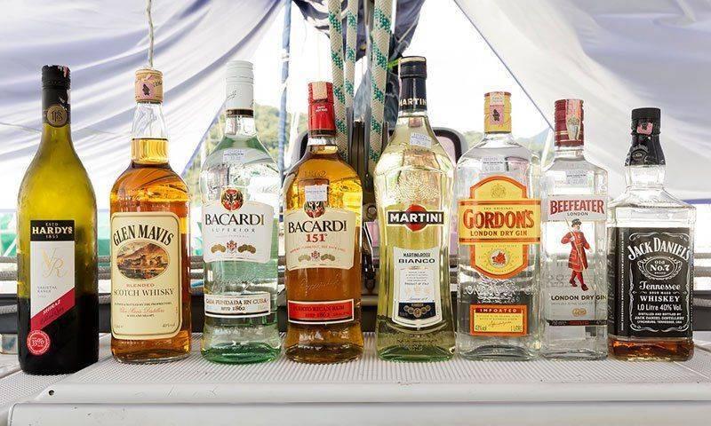 Bacardi 151 и другой алкоголь