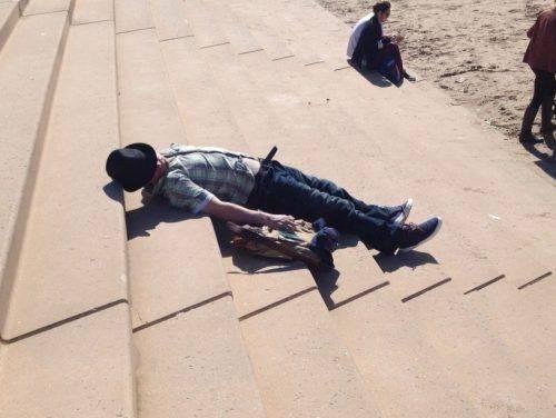 Мужчина потерял сознание