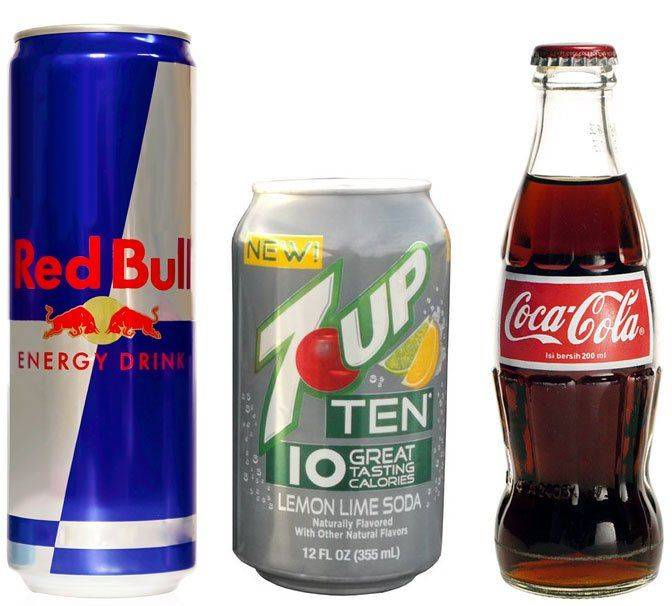 Кола и другие напитки