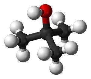 Молекула бутанола