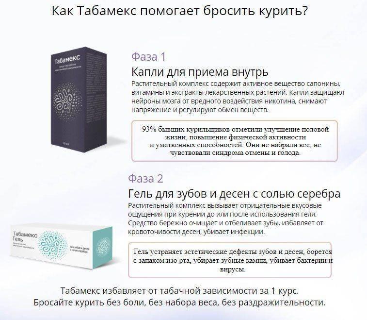 Как работает Табамекс