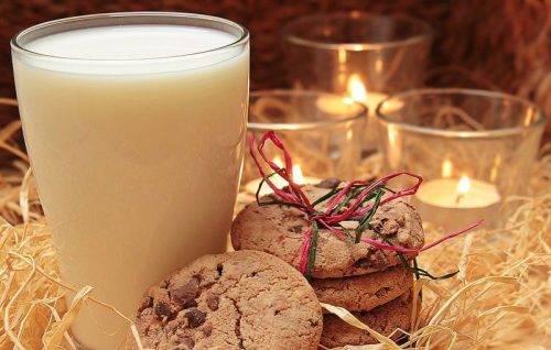 Новогоднее молоко