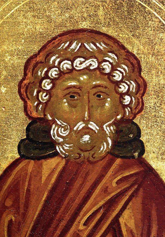 Икона Моисея Мурина от пьянства