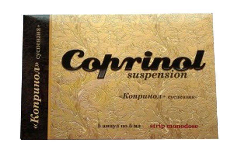 Coprinol — уникальный комплекс от алкогольной зависимости