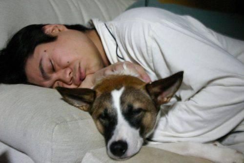 Сонливый человек