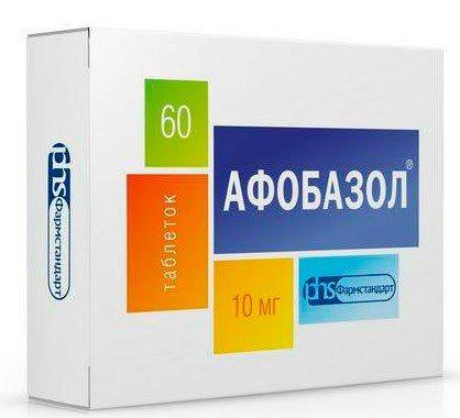 Упаковка таблеток Афобазол