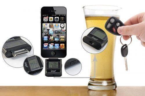 Алкотестер в смартфоне