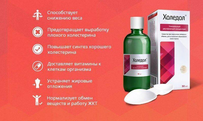 Препарат Холедол