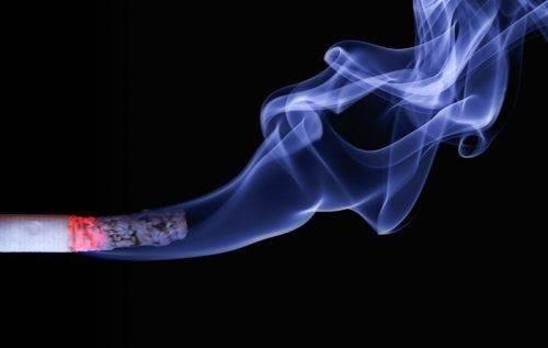 Дымящаяся сигарета