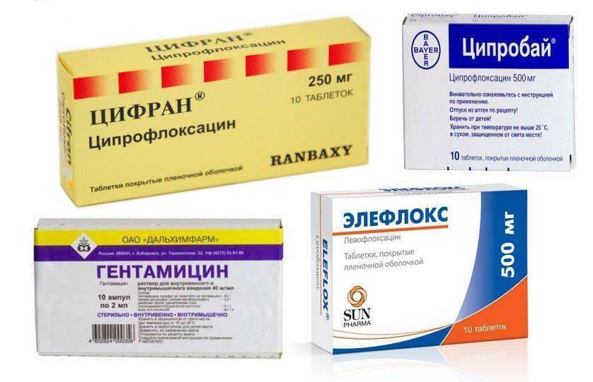 Курс цифрана 500 при лечении простатита
