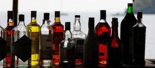 Много алкоголя