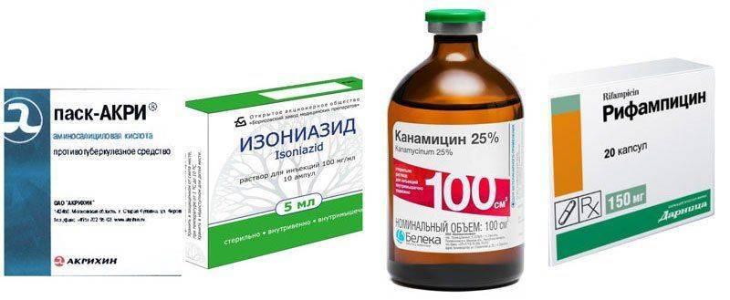 Противотуберкулезные лекарства