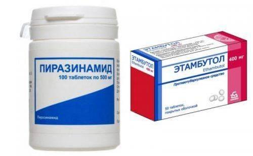 Препараты от туберкулеза