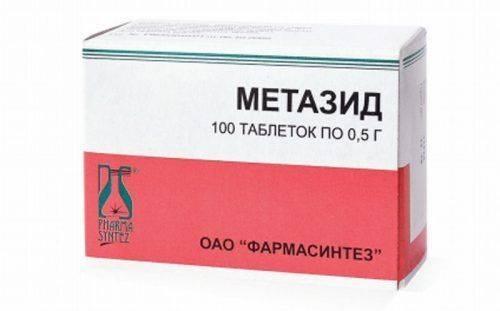 Лекарство Метазид