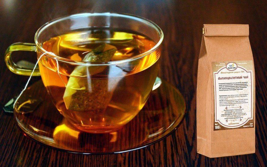 Монастырский антипаразитный чай