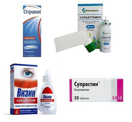 Лекарства при аллергии на липу