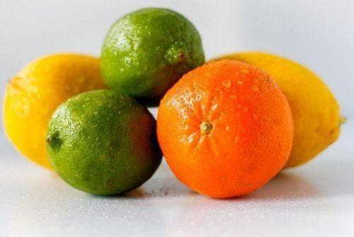 Цитрусовые (апельсины, лимоны, лайм)