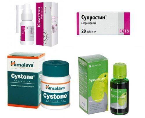 Лекарства при уретрите у детей