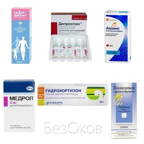 Формы препаратов