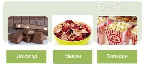 Продукты с содержанием кукурузы