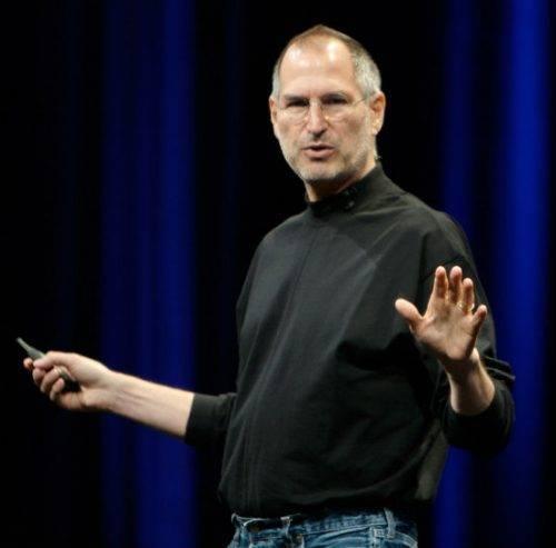 Стив Джобс выступает