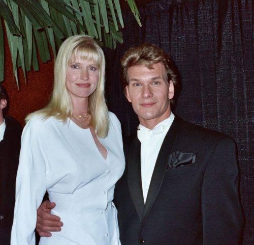 Патрик Суэйзи с девушкой
