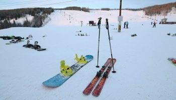 Лыжи и сноуборд