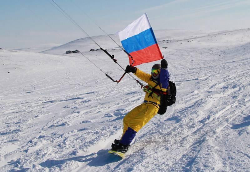Российский сноукайтинг