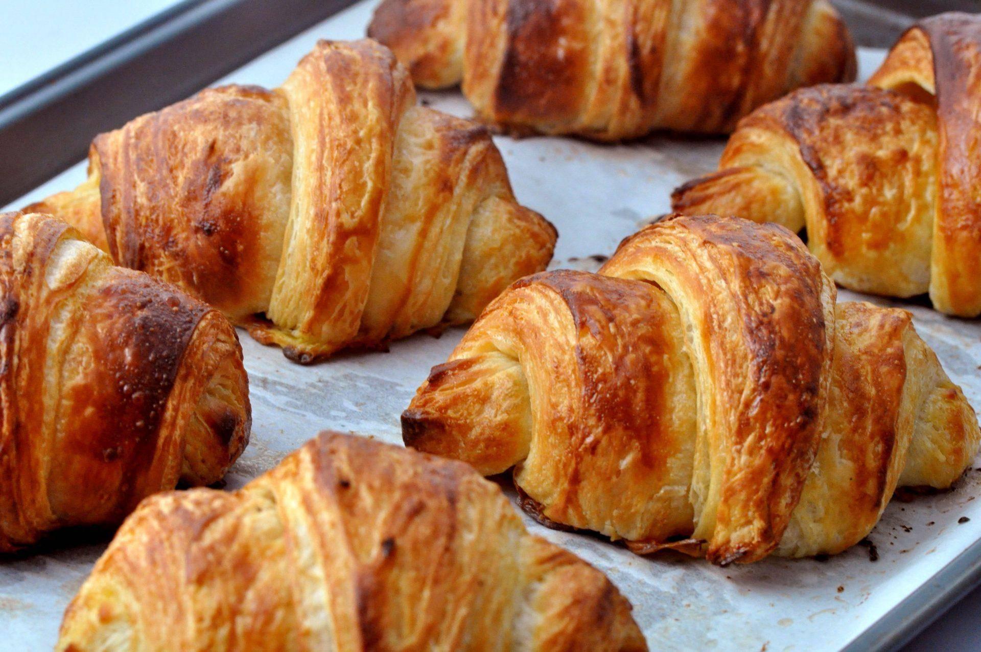 Круассаны как во французской пекарне в домашних условиях