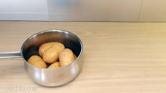 Как правильно чистить картошку – 8 лучших методов