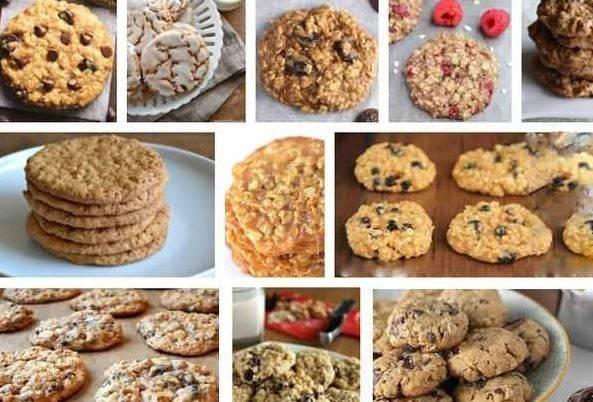 Овсяное печенье — калорийность, польза, состав