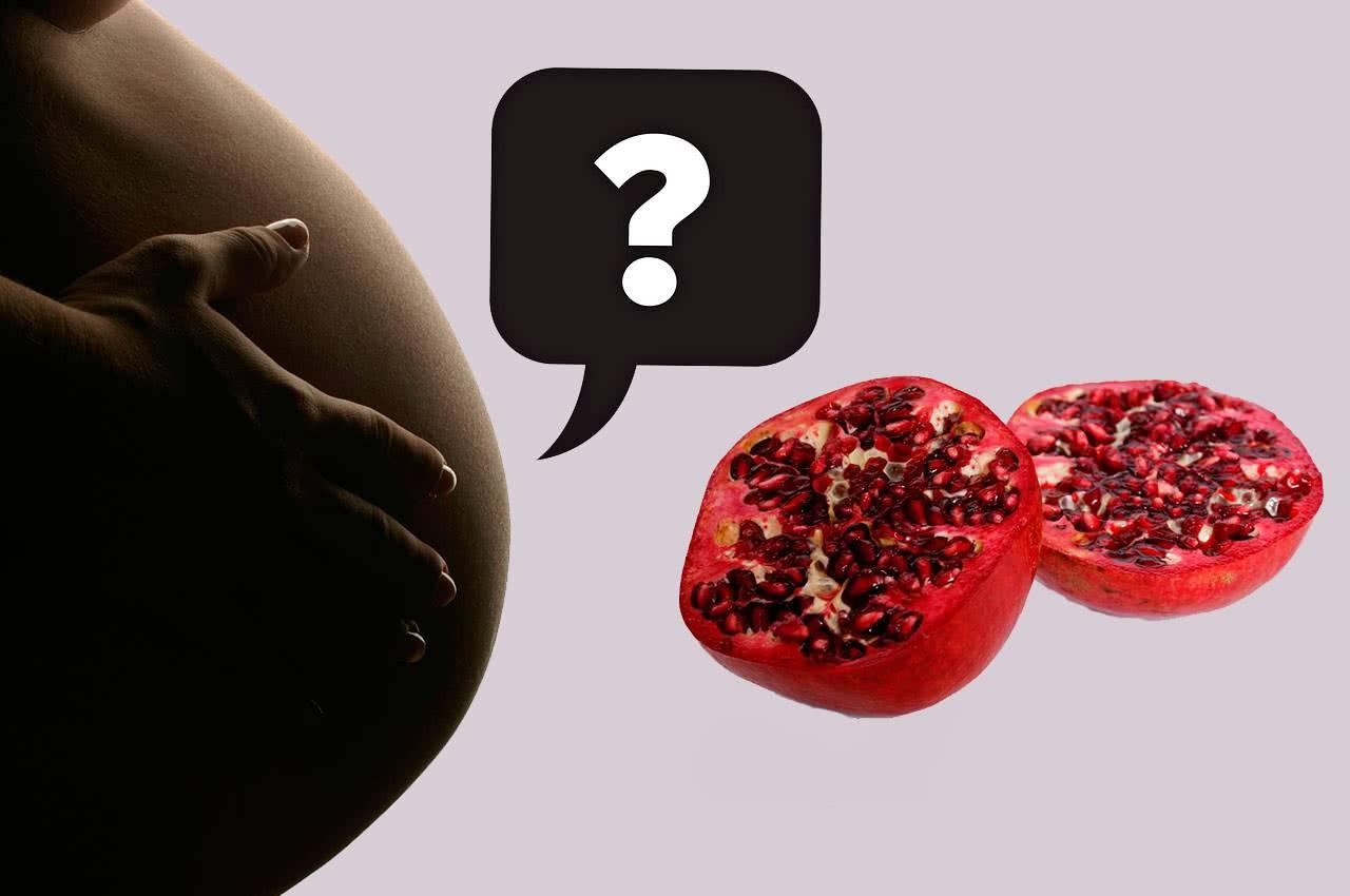 Гранат: вред или настоящая находка при беременности?