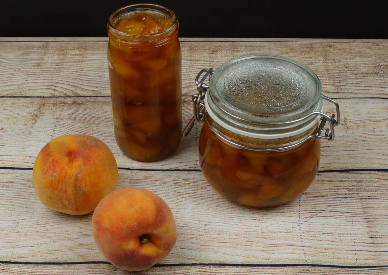 Рецепт приготовления варенья из персиков