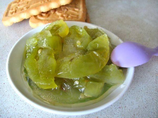 Варенье из зеленых помидор на зиму рецепты