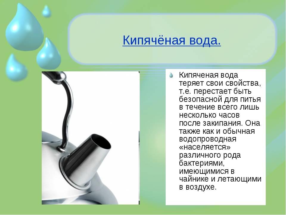 Какую воду лучше пить — кипяченую или сырую