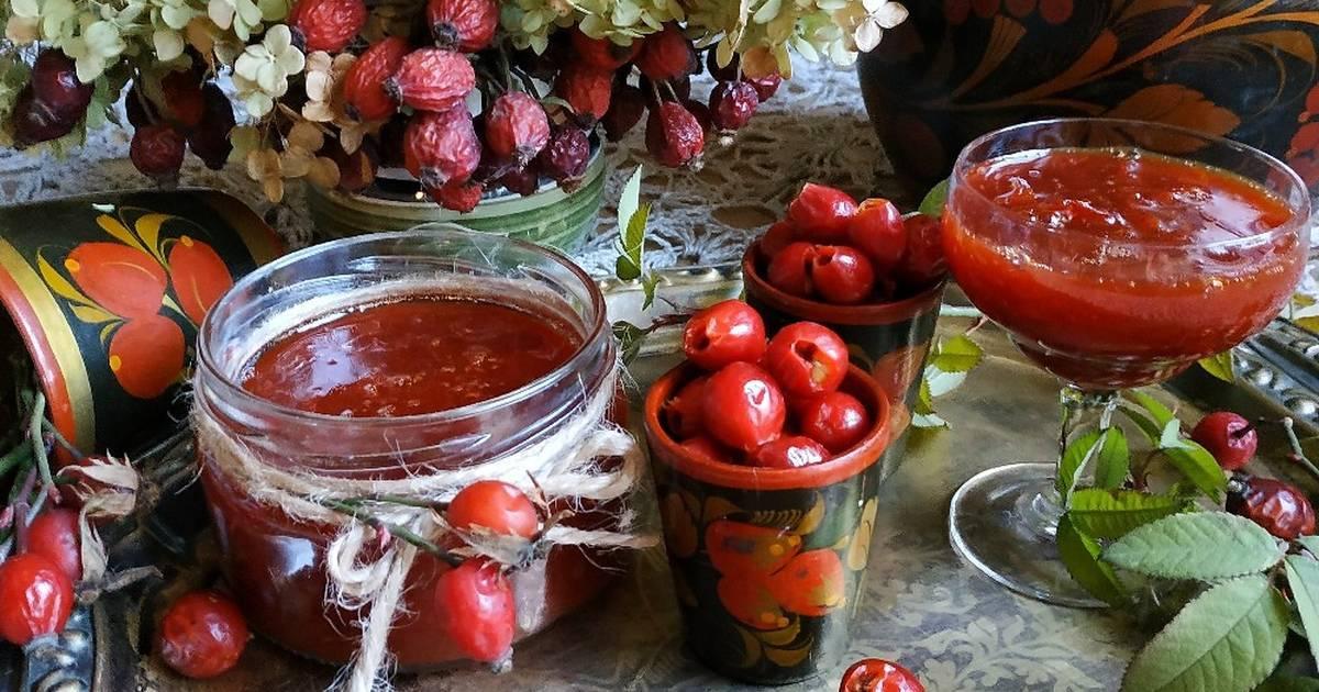 Как сварить варенье из шиповника на зиму: рецепт пятиминутка