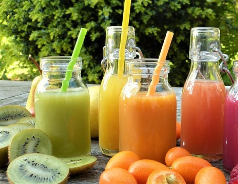 Свежевыжатые соки из цитрусовых фруктов — больше пользы или вреда?