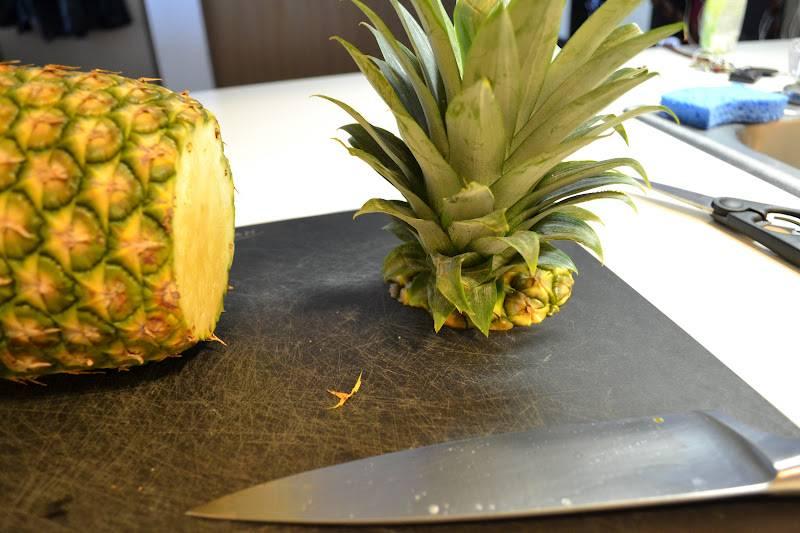 Сколько можно хранить ананас
