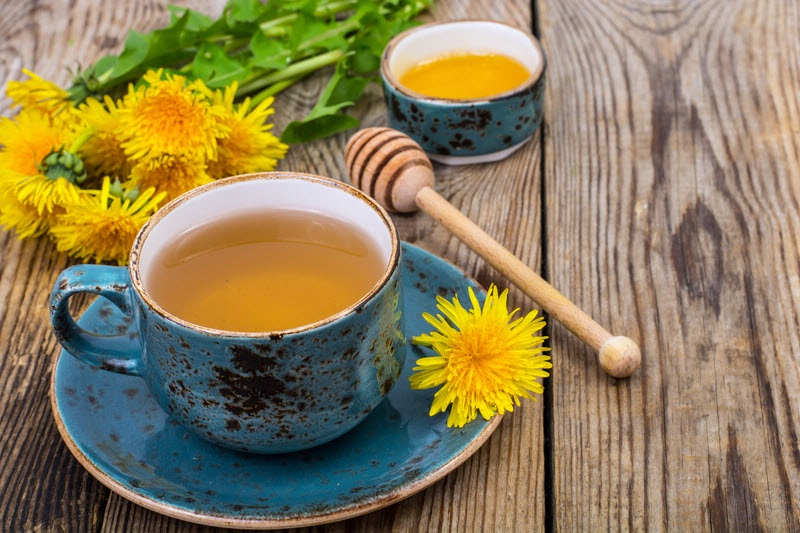 Чай из одуванчика: полезные свойства, как сделать