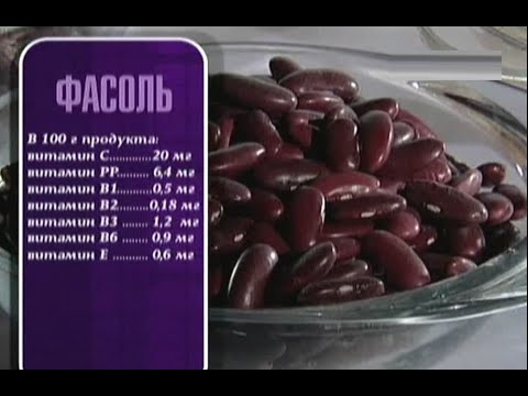Фасоль - польза и вред для здоровья, калорийность и состав продукта
