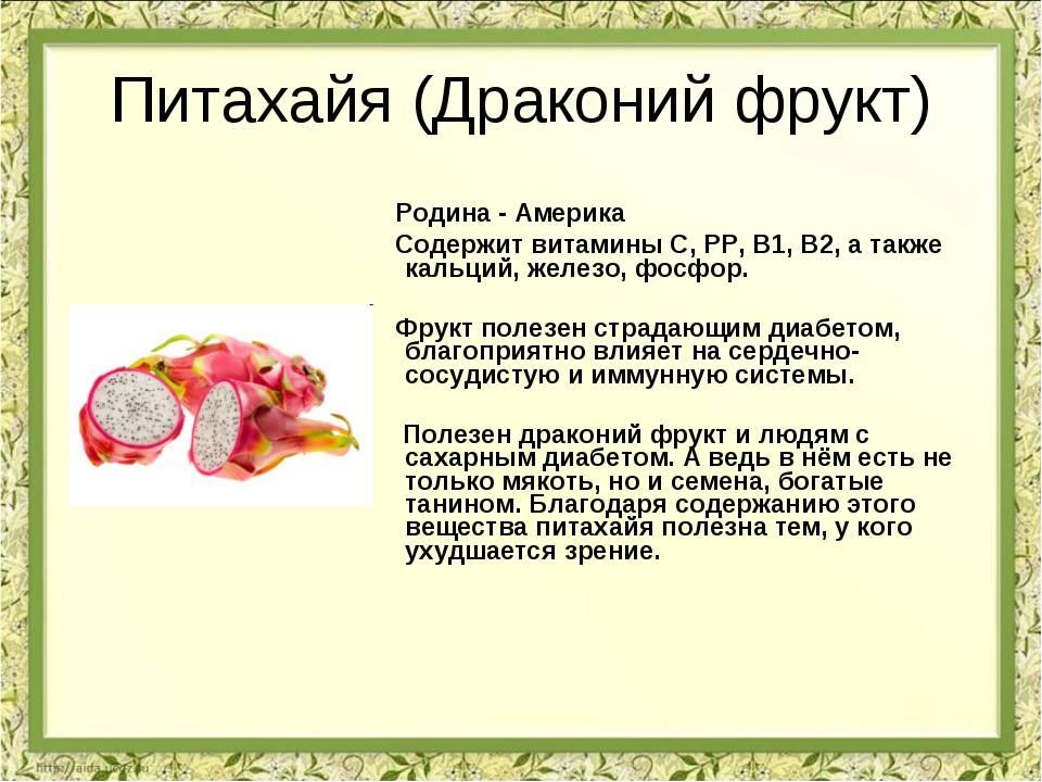 Польза и вред питахайя для организма. где растет питахайя. химический состав