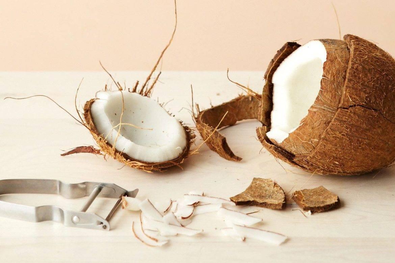 Как легко расколоть кокос в домашних условиях