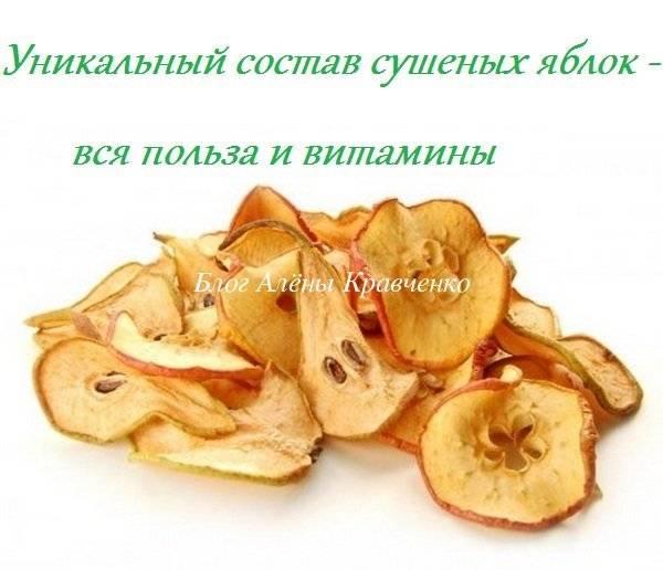 Чем полезны сушеные яблоки и как их приготовить