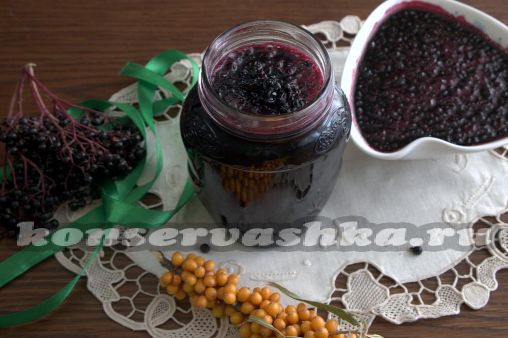 Варенье из чёрной бузины — рецепты на зиму, лечебные свойства варенья